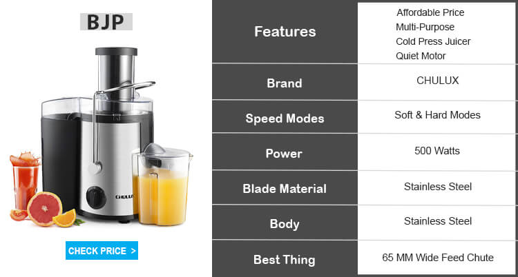 CHULUX centrifugal juicer