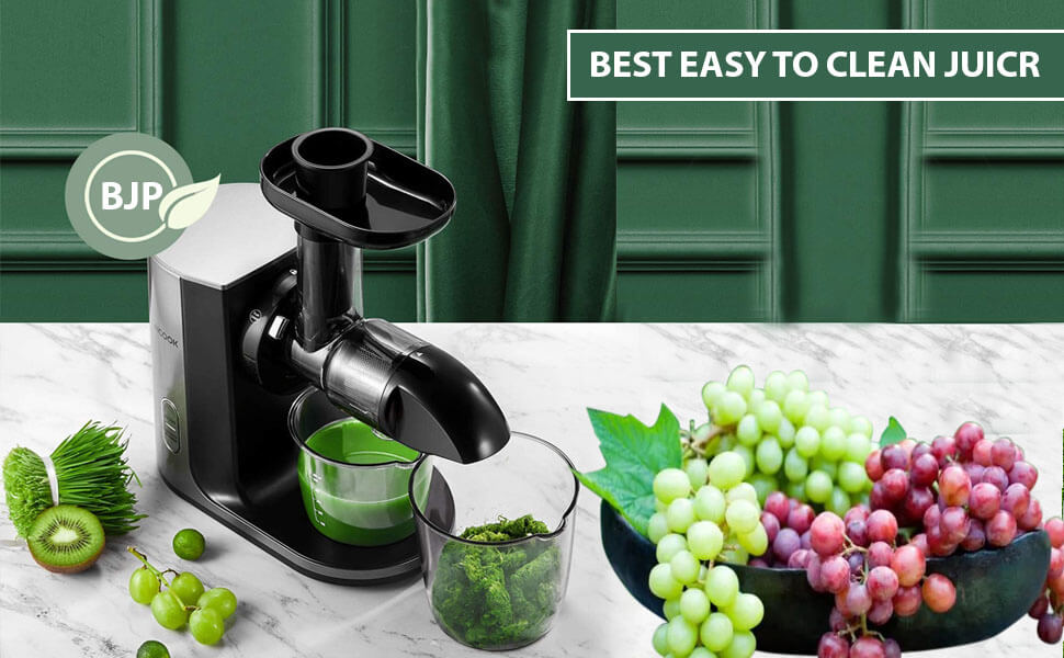 best juicer with easy clean up