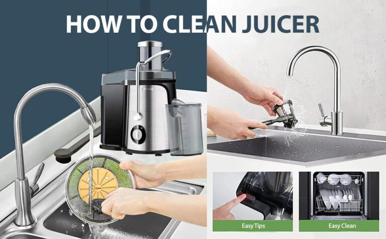 how to clean a juicer