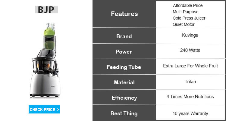 kuvings whole slow juicer review