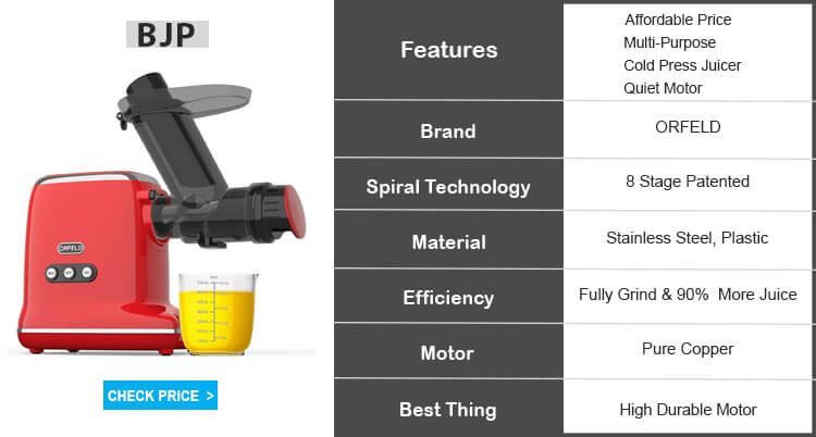 orfeld masticating juicer review