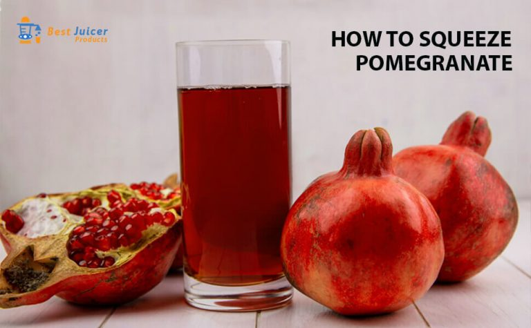 How To Squeeze Pomegranate